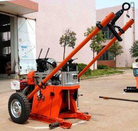 macchina della piattaforma di produzione di profondità di 150m/impianto di perforazione portatili geotecnici della perforazione a rotazione